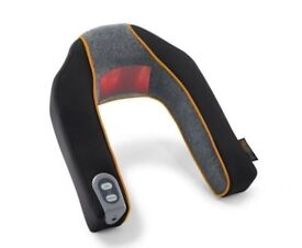 Massager Neck and Shoulder Heated Massage Cushion With Heat Mains or Battery