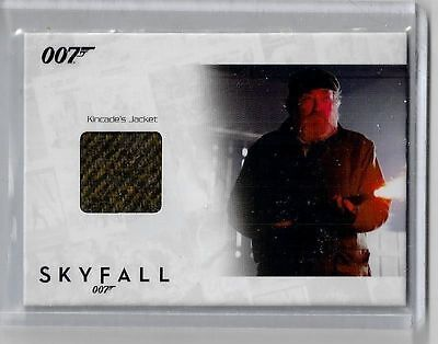 James Bond Autograph & Relic Skyfall costume card SSC38 Albert Finney 053/200 - Skyfall Costumes