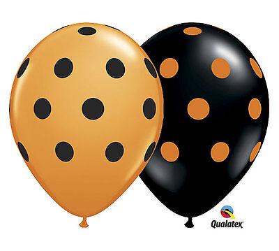Big Polka Dots 11 Balloons Halloween Festival Fall Fun