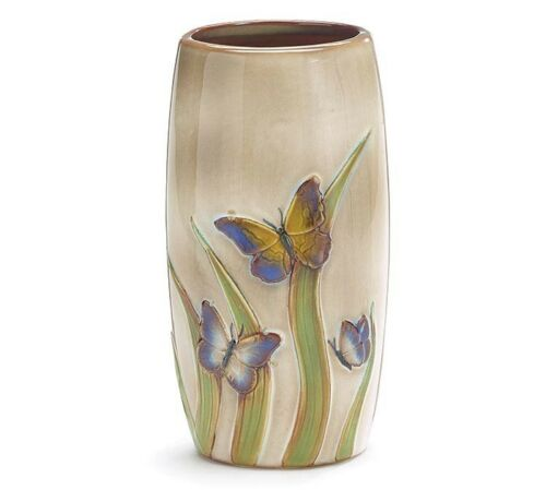 Porcelain Butterfly Vase