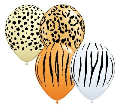 12 Safari Latex Balloons 11