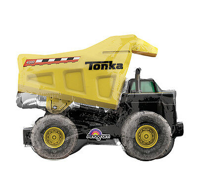 Tonka Truck Birthday (Tonka Dump Truck Construction Zone Mylar Balloons 14