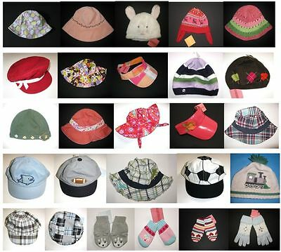 Gymboree boy girl sun hat cap bucket mittens glove easter ho