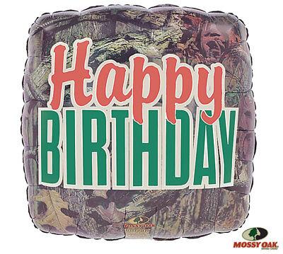 Mossy Oak Camouflage Camo HAPPY BIRTHDAY Hunter Hunting Party - Camo Happy Birthday