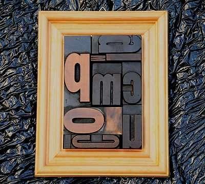 Collage Holzbuchstaben Plakatlettern Letterncollage antik Letterpress wood type