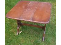 Small double leaf table