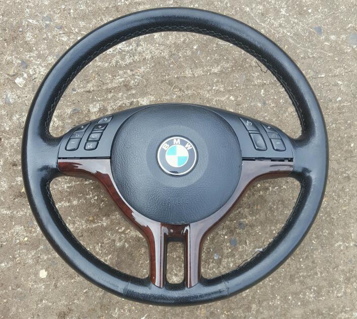 Bmw E46 Multi Function Sport Steering Wheel In