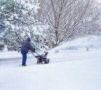 SNOW REMOVAL 24/7 service