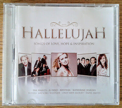 Hallelujah Double Cd Songs Of Love Hope   Inspiration Various Artists 2009