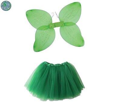 Peter Pan Fairy Angel Tinkerbell Fairy Wings & TuTu Fairy Tale Fancy (Peter Pan Tinkerbell Kostüme)