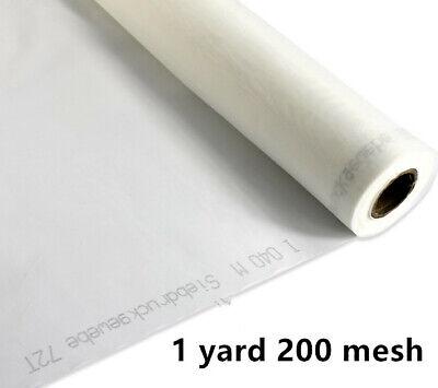 1 Yards 50 Silk Screen Printing Mesh Fabric 200 Mesh 80twhite