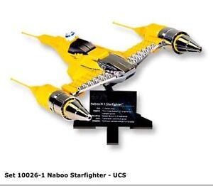 cherche lego: 10026 naboo starfighter