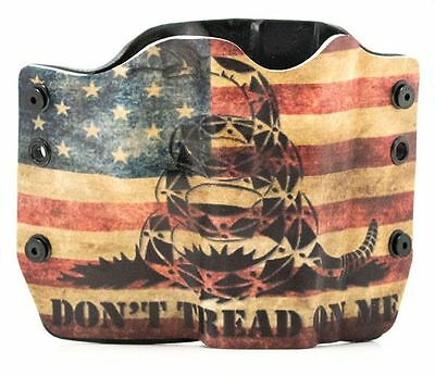 Taurus  Dont Tread On Me Snake Flag  Owb Kydex Gun Holsters