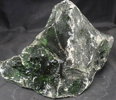 22 LBS SLAG GLASS ROCK CULLET AQUARIUM LANDSCAPE FISHTANK GARDEN YARD ART #1162