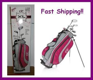 New-Callaway-Top-Flite-Womens-Ladies-Graphite-Complete-Golf-Club-Set-Bag-RH