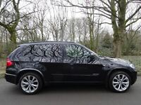 2010 10 BMW X5 3.0TD TWIN TURBO (286 bhp) auto xDrive35d M Sport..BMW SHISTORY