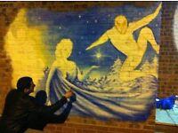 MURAL ARTIST IN LONDON