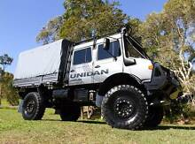 The Ultimate Dual Cab Unimog U1700 is for sale. Burleigh Heads Gold Coast South Preview