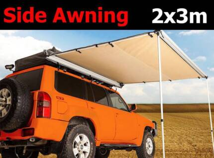 2x3m Awning car 4wd truck caravan and camping shade annex roof