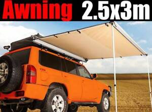 2.5M X 3M Car Side Awning Roof Rack Tents Shades Camping $145!