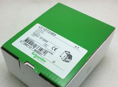 1PC NEW IN BOX Schneider LC1DT20BD DC24V Contactors