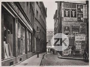 """VILLE LYON Rue AFFICHE Cirque ANCILLOTTI PLEGE Anis SYLVESTRE Photo 1926 - France - Commentaires du vendeur : """"MERCI DE BIEN LIRE LE DESCRIPTIF DE L'OBJET ET LES CONDITIONS DE VENTE AVANT D'ACHETER / PLEASE READ CAREFULLY ITEM DESCRIPTION AND SALES CONDITIONS BEFORE BUYING"""" - France"""