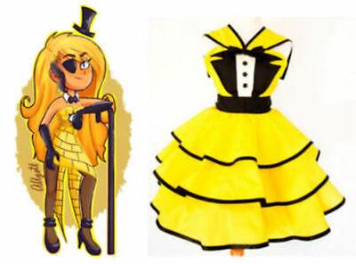 Gravity Falls Female Bill Cipher Dress Cosplay Costume - Female Cosplays