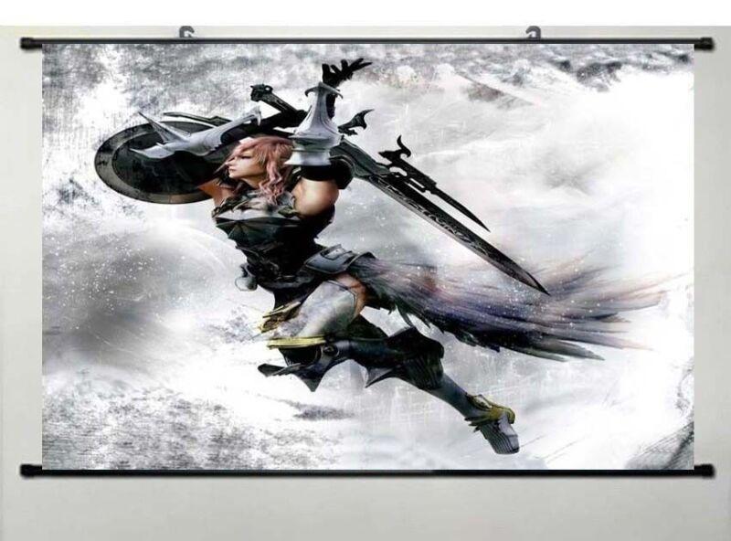 Final Fantasy XIII-2 WallScroll Poster, New