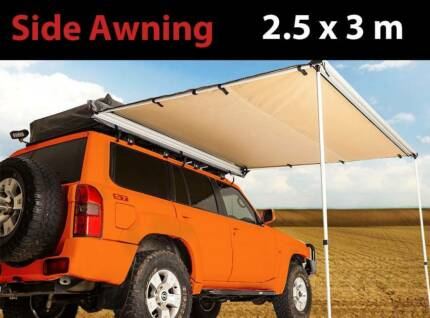 2.5x3m Awning car 4wd truck caravan and camping shade Craigie Joondalup Area Preview