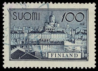 """FINLAND 240i (Mi260ay) - Helsinki South Harbour """"1942 Thick Paper"""" (pf75495)"""