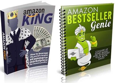 Amazon King+Amazon Bestseller Genie eBook PDF with Resell Rights Free Shipping.