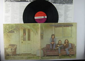 Crosby,Stills & Nash,Atlantic Orange & Purple Record Label,LP