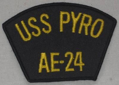 USS PYRO AE-24 Patch