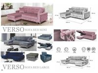🍁🍁CLEARANCE STOCK MUST GO🍁🍁BRAND NEW VERSO SOFA BED🍁🍁AVAILABLE NOW🍁🍁