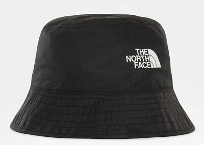 The North Face Sun Stash Reversible Bucket Hat In Black