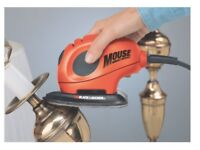 BLACK+DECKER KA161BC Mouse Detail Sander with Accessories - NEW IN BOX - UNUSED