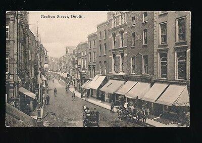 Ireland DUBLIN Grafton St c1900s? PPC local pub Leechman