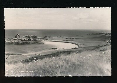 Channel Islands ALDERNEY Saye Bay RP PPC c1950/60s?