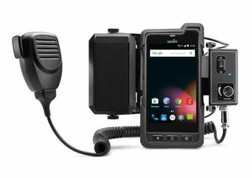 NEW GPS Lockbox Mobile Mounting wt Push to Talk Speaker System Kit for Sonim XP8