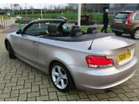BMW 120i se convertible , FSH