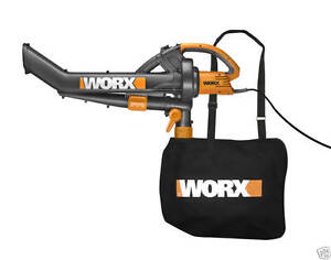 Worx-TRIVAC-Blower-Mulcher-Vacuum-WG500-SAVE-50-GREAT-VALUE-NEW