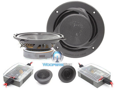 15-prs5v2 Memphis 5.25 2-way Component Speakers Mids Tweeters Crossovers