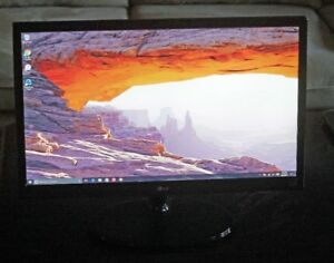 "LG 22"" Class Full HD LED Computer Monitor"