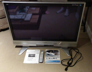 "Panasonic 42"" flat screen plasma HDTV TV"