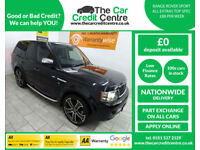 Black Range Rover Sport 3.0TD V6 Auto ***FROM £382 PER MONTH***