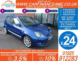 2007 FORD FIESTA 2.0 ST GOOD / BAD CREDIT CAR FINANCE FROM 24 P/WK