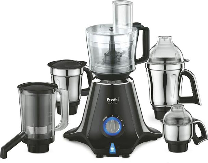 Preethi Mixer Grinder Zodiac 750watts with Master Chef Jar + 4 jars (SMP2) By Ebay @ Rs.3,360