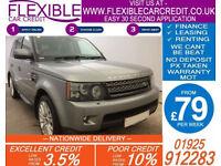 2012 RANGE ROVER SPORT 3.0 SDV6 HSE GOOD / BAD CREDIT CAR FINANCE AVAILABLE