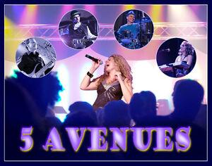 """""""5 AVENUES""""; un band pour votre party West Island Greater Montréal image 6"""