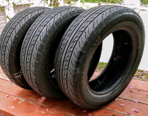 Two sets of 175/75/14 all season tires